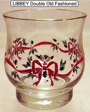 Vintage LIBBEY Holiday Double Old Fashioned for Sale in Las Vegas, NV