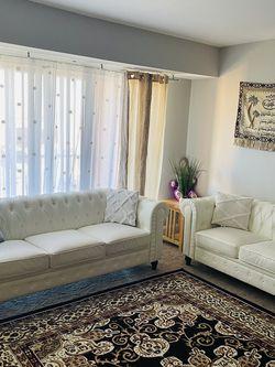Leather Sofa for Sale in Alexandria,  VA