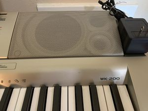 Casio WK 200 Keyboard for Sale in San Antonio, TX