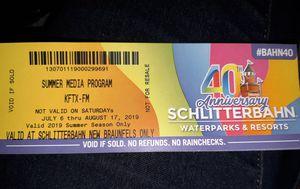 Schlitterbahn 4 tickets for Sale in CORP CHRISTI, TX