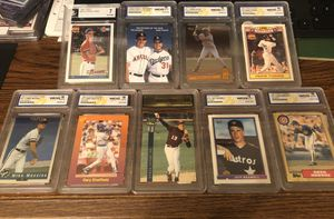 Graded baseball cards for sale - send offers for Sale in San Antonio, TX