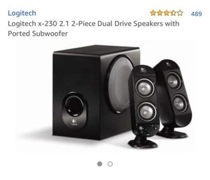 Logitech computer speakers for Sale in San Diego, CA
