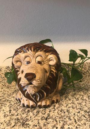 Lion Pot & Plant for Sale in Phoenix, AZ
