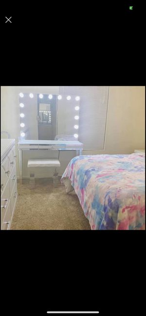 Professional Makeup Vanity for Sale in Sacramento, CA
