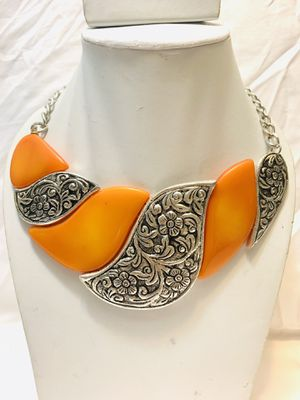 Amber choker necklace for Sale in San Jose, CA