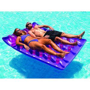 ✨Two Person Inflatable Swimming Pool Floating Air Mattress Lounger for Sale in Los Angeles, CA