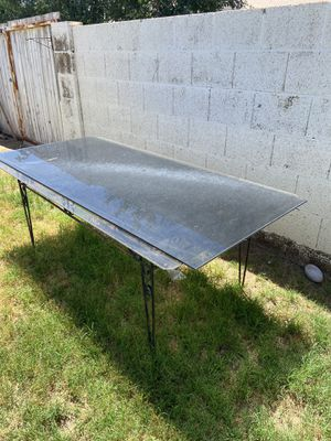 Black Tempered Glass table top for Sale in Chandler, AZ