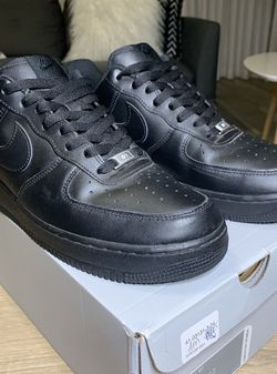 Black Nike Air Force 1 Low Men's Size 11 for Sale in Oklahoma City,  OK