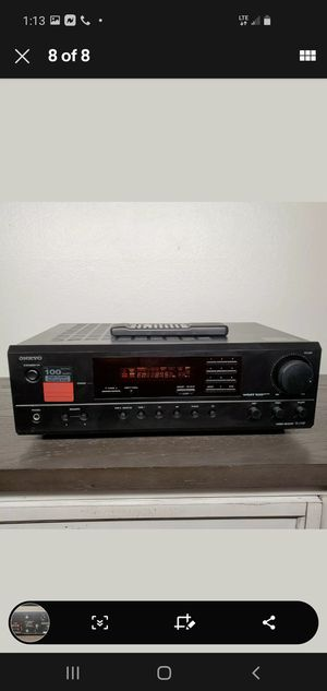 Onkyo Stereo Receiver TX-2100 with Remote. for Sale in San Diego, CA