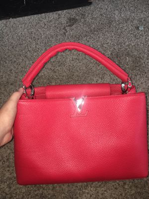 louis vuitton red purse for Sale in Salt Lake City, UT