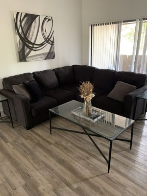 Black Ashley City Furniture Sectional MUST BE GONE!! for Sale in Plantation, FL