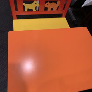Like New Kids Table, Chairs And Bench for Sale in Marietta, GA