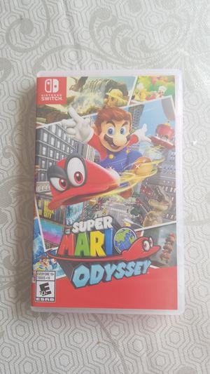 Super mario odyssey ( Nintendo switch) for Sale in Gaithersburg, MD
