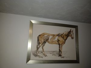 Wall art horse painting for Sale in Silver Spring, MD
