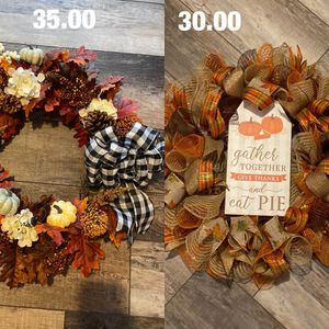 Fall wreaths for Sale in Fort Worth, TX