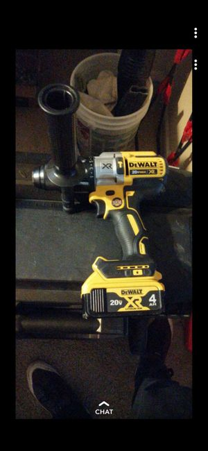 DeWalt 20v xr hammer drill w/ battery for Sale in Parker, CO