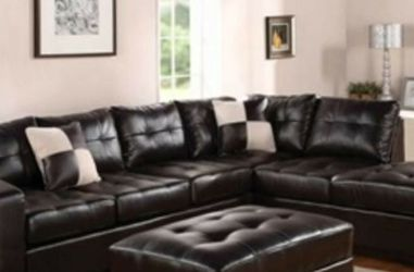 New Leather Sectional Sofa Liquidation Sale for Sale in Lady Lake,  FL