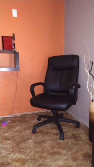 Black leather office today for Sale in Mesa, AZ