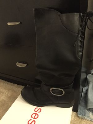 Black boots for Sale in Stafford, VA