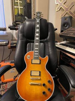 Gibson Custom Shop M2M Les Paul Custom Honey Flame (2014) MINT for Sale in Fort Lauderdale,  FL
