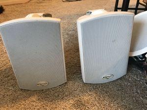 2 outdoor klipsch speakers for Sale in Dearborn, MI