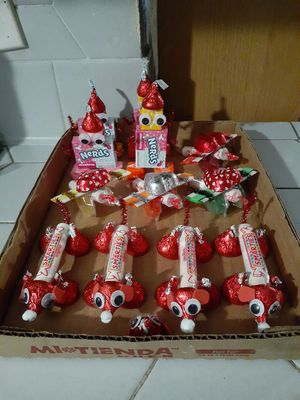 valentine candy crafts for Sale in Weslaco, TX
