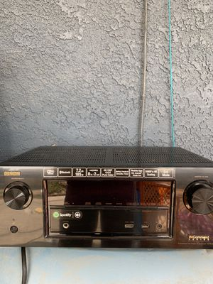 DENON receiver 7.2 for Sale in Parlier, CA