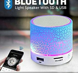 Brand New Blutooth & SD card & USB Dancing Light Speaker for Sale in Detroit, MI