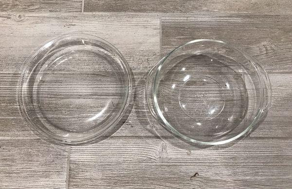 Pyrex Bowl & Pie Dish