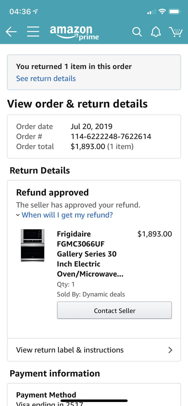 *Brand New in Box* Frigidaire Gallery Series