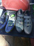 Biking shoes clip in pedals for Sale in Salt Lake City, UT