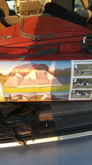 Golden bear tent flat pine. Sleeps 8 for Sale in San Bernardino, CA