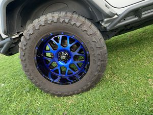 XD wheels Grenade 20x10 - 5x5 Jeep for Sale in Phoenix, AZ