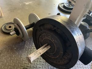 Bench weight set for Sale in Claremont, CA