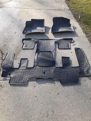 2013/2016 GMC Acadia Weather Tech Full Set Floormats for Sale in HOFFMAN EST, IL