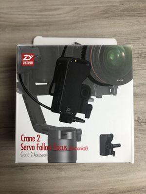 Zhiyun Crane 2 gimbal follow focus for Sale in Tampa, FL