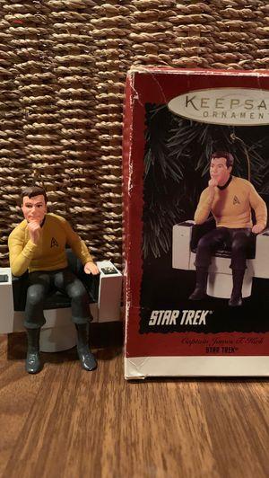 Hallmark Christmas ornament Star Trek Captain Kirk. 1995 for Sale in Victor, MT