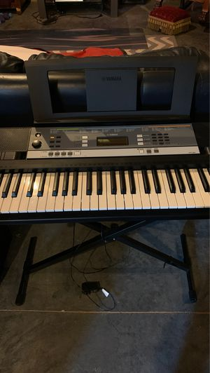 Casio Keyboard + Stand + Chair for Sale in Kansas City, MO