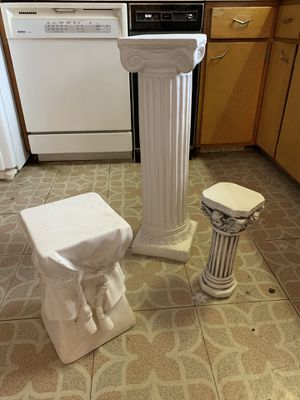 Pillars for flower pots for Sale in Wakefield, MA