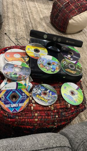 Xbox 360 with games for Sale in Nashville, TN