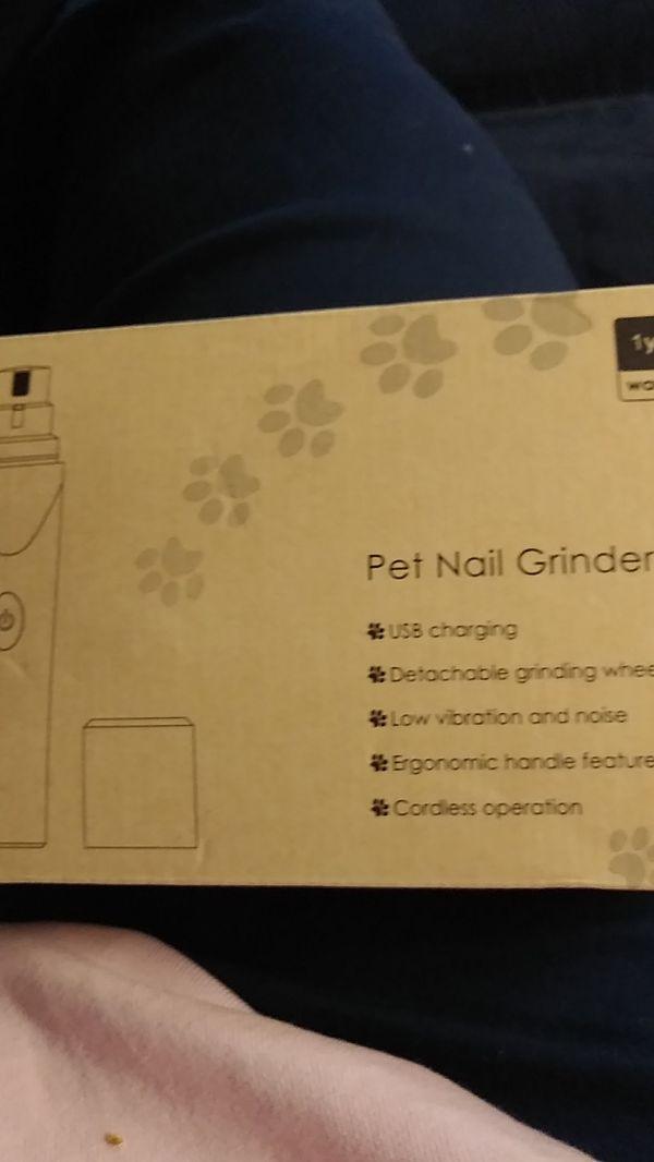 New Pista Paw Pet Nail Grinder