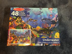 Melissa & Doug Underwater Floor Puzzle - 48 Pieces Brand New for Sale in Manchester, CT