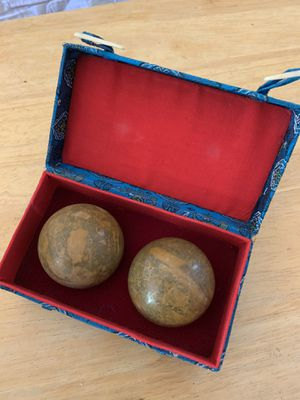 Baoding balls for stress relief, motor skills etc for Sale in Rockville, MD