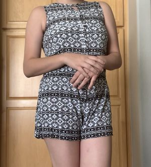 Black and white womens clothes - romper for Sale in Las Vegas, NV