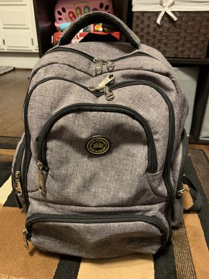 Gray Qimiaobaby Diaper Backpack for Sale in Nuevo, CA