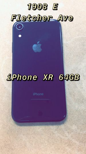 iPhone XR Unlocked for Sale in Tampa, FL
