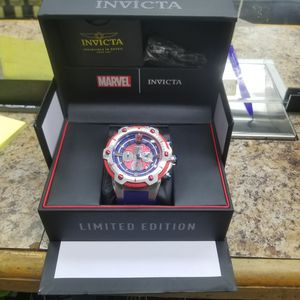Invicta Marvel Bolt Spider Man 52mm Limited Edition Chronograph Blue Men's Watch for Sale in New York, NY