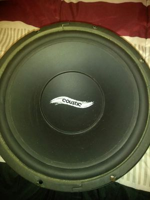 """Coustic 12"""" sub for Sale in Waterbury, CT"""