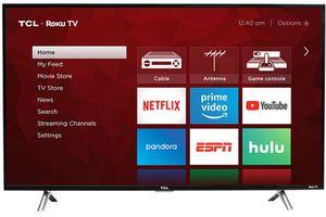 """TCL 43"""" 4K UHD ROKU SMART TV for Sale in Atlanta, GA"""