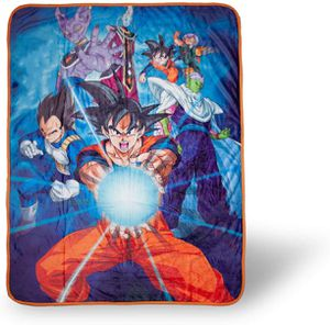 Authentic Dragon Ball Z Super Throw Blanket for Sale in Temple City, CA